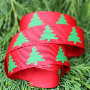 Christmas Ribbon - Trees